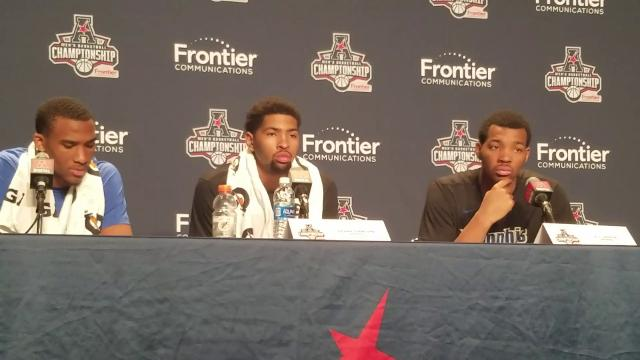 Memphis players discuss AAC tournament loss