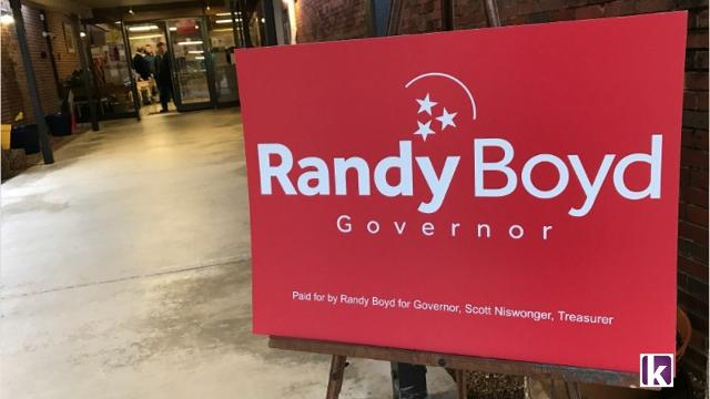 Video: Randy Boyd kicks off campaign