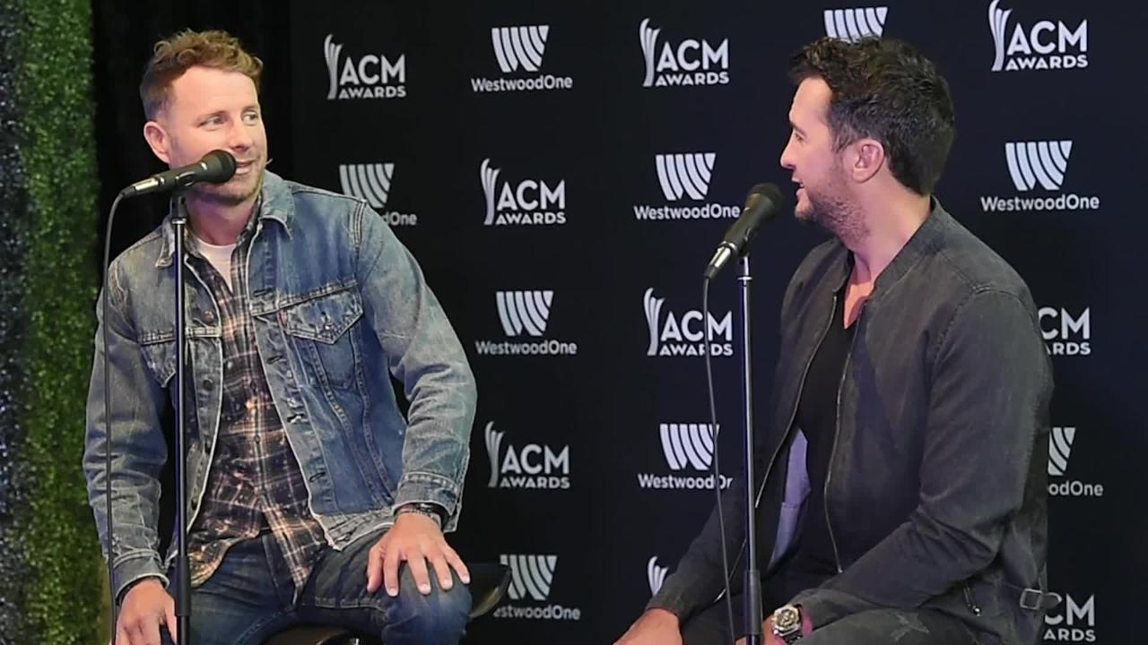 ACM Press Conference with Luke Bryan and Dierks Bentley