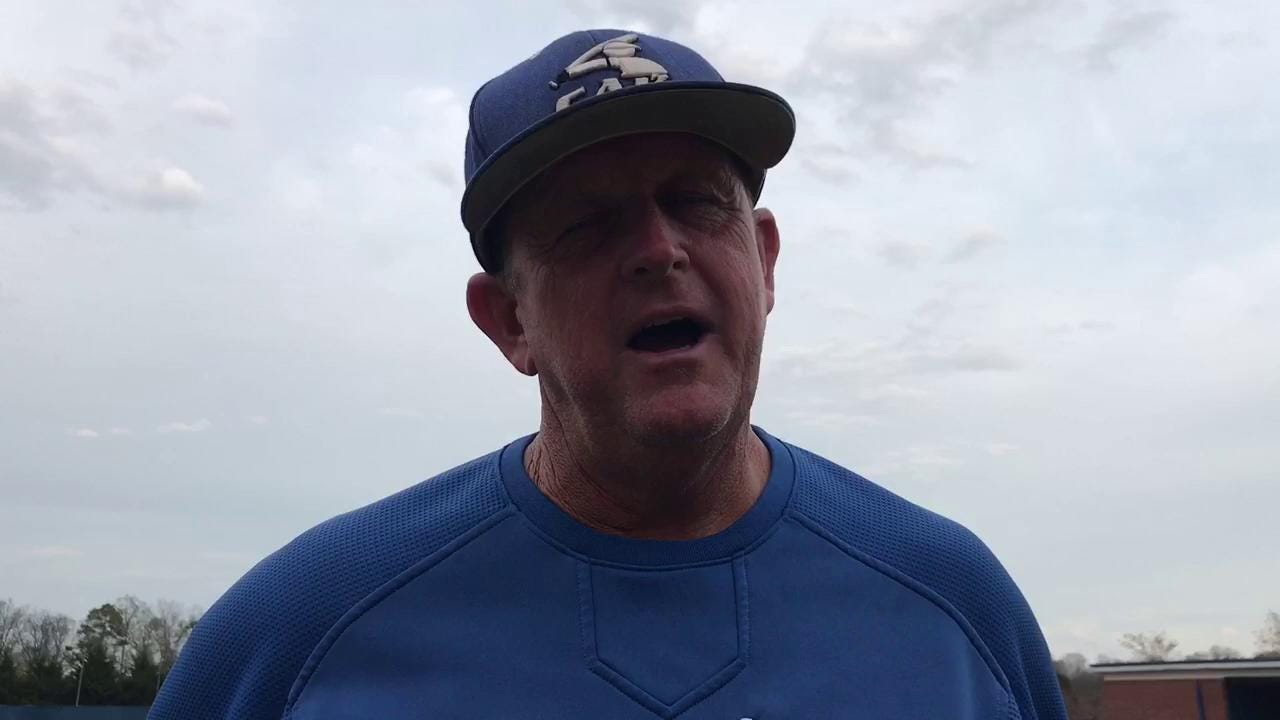 CAK Coach Pharr: Pitching's our deal
