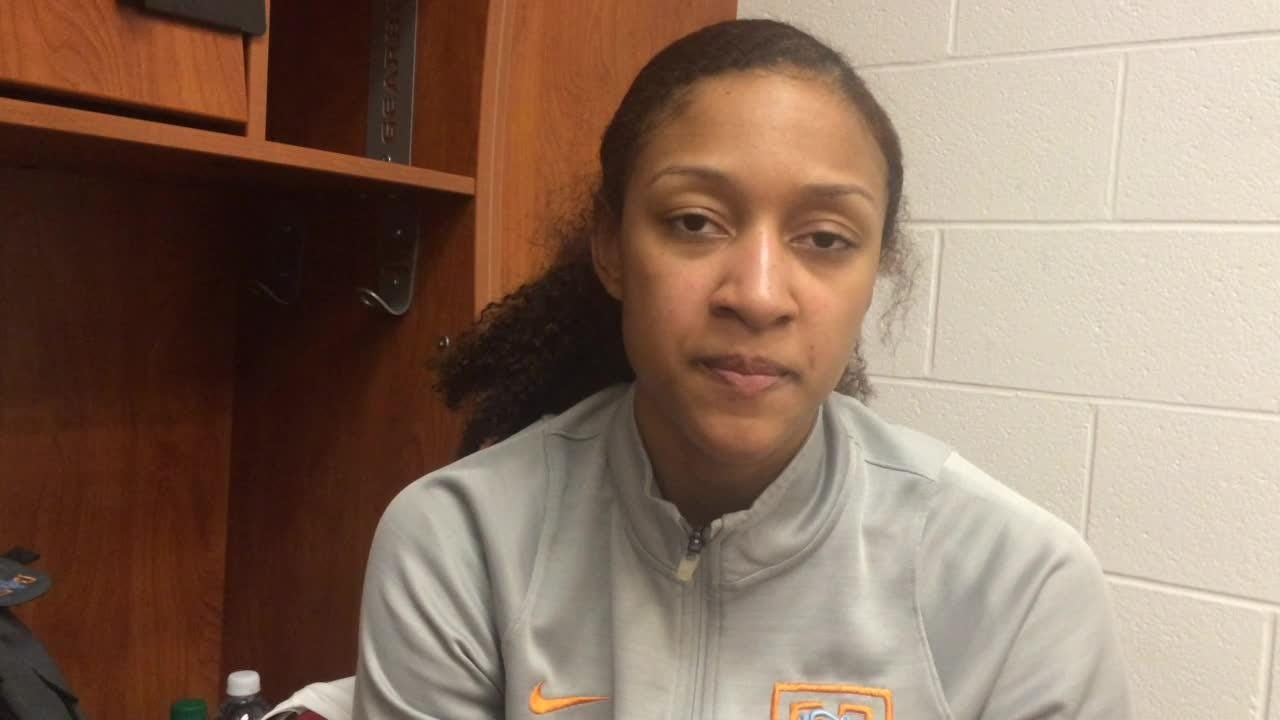 Jaime Nared on Lady Vols' second-round showdown