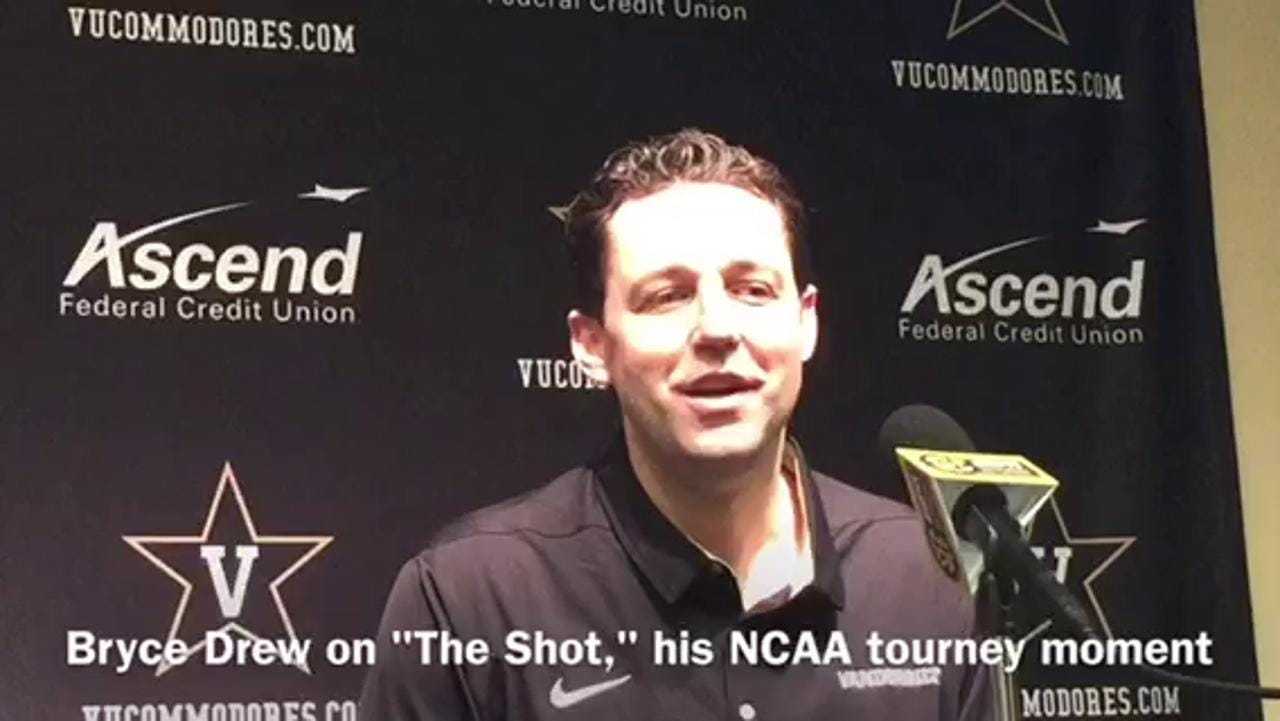Vandy's Bryce Drew recalls his NCAA tourney moment
