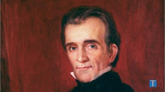 The fight over James K. Polk's body