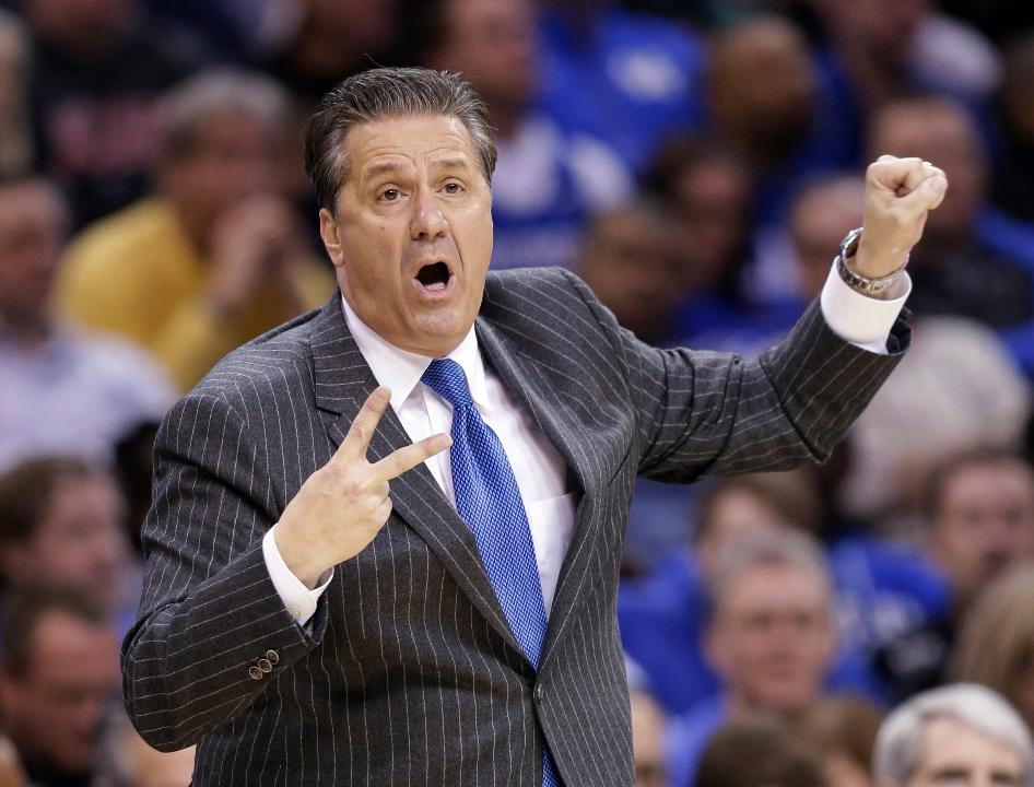 What three words would you use to describe John Calipari?