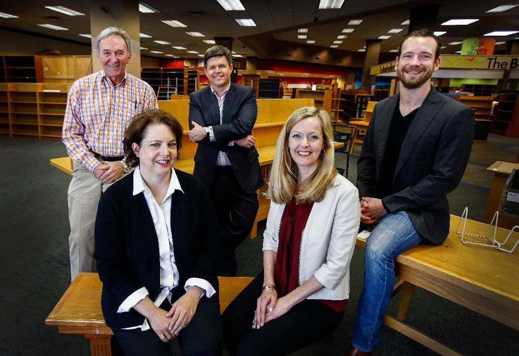 Investors talk about the new bookstore at Laurelwood