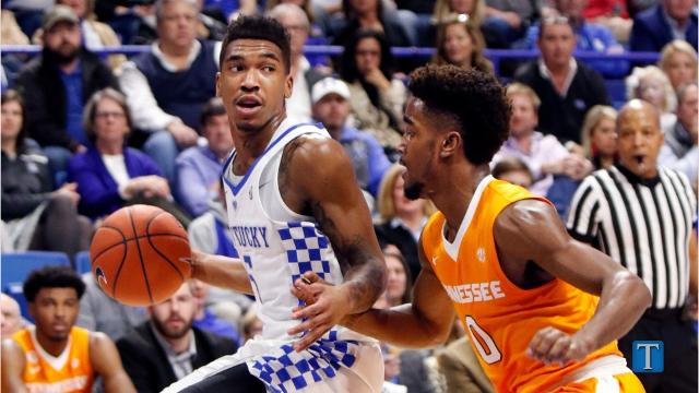 Image result for Kentucky vs Tennessee basketball