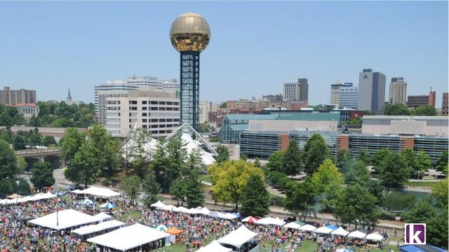 The Sunsphere through the years