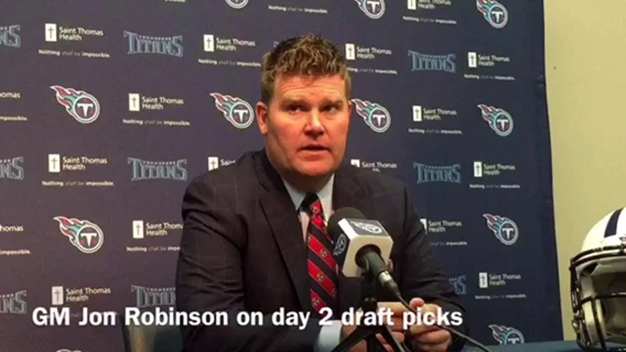 Titans Day 2 draft picks