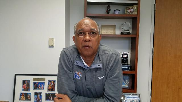 Tubby Smith talks about how his plan changed at Memphis