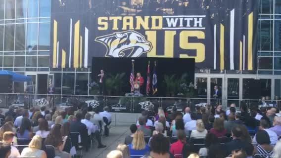 Mayor Megan Barry announces her plans for education