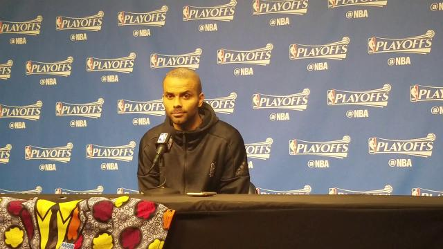 Tony Parker on his big Game 6 performance