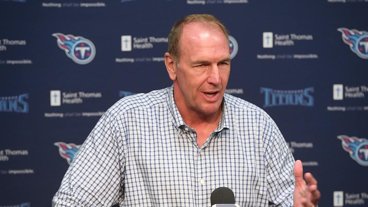 Titans head coach Mike Mularkey talks about the release of Jason McCourty