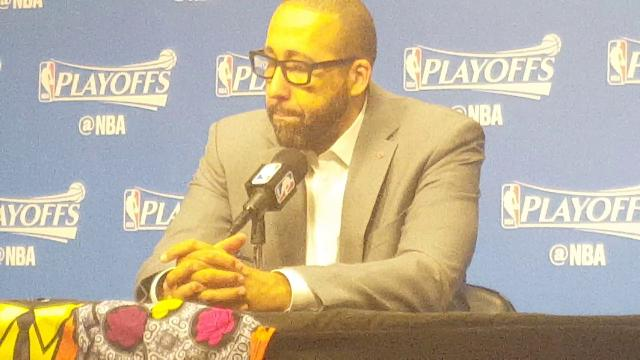 Grizzlies coach Fizdale after Game 6