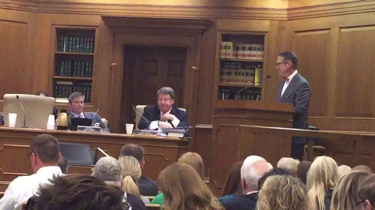 Sen. Bo Watson discusses de-annexation