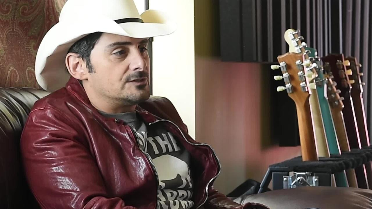 3608e29bf0d40 Brad Paisley teams with Fogerty