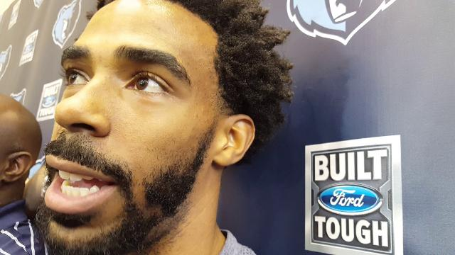 Mike Conley talks about Fizdale and Game 3