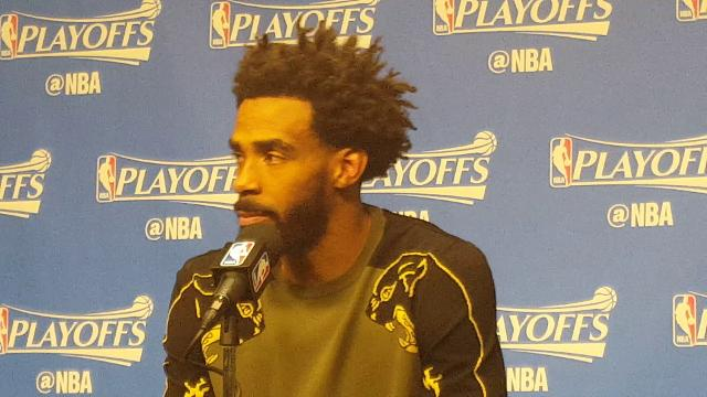 Mike Conley talks about how the Grizzlies battled the Spurs