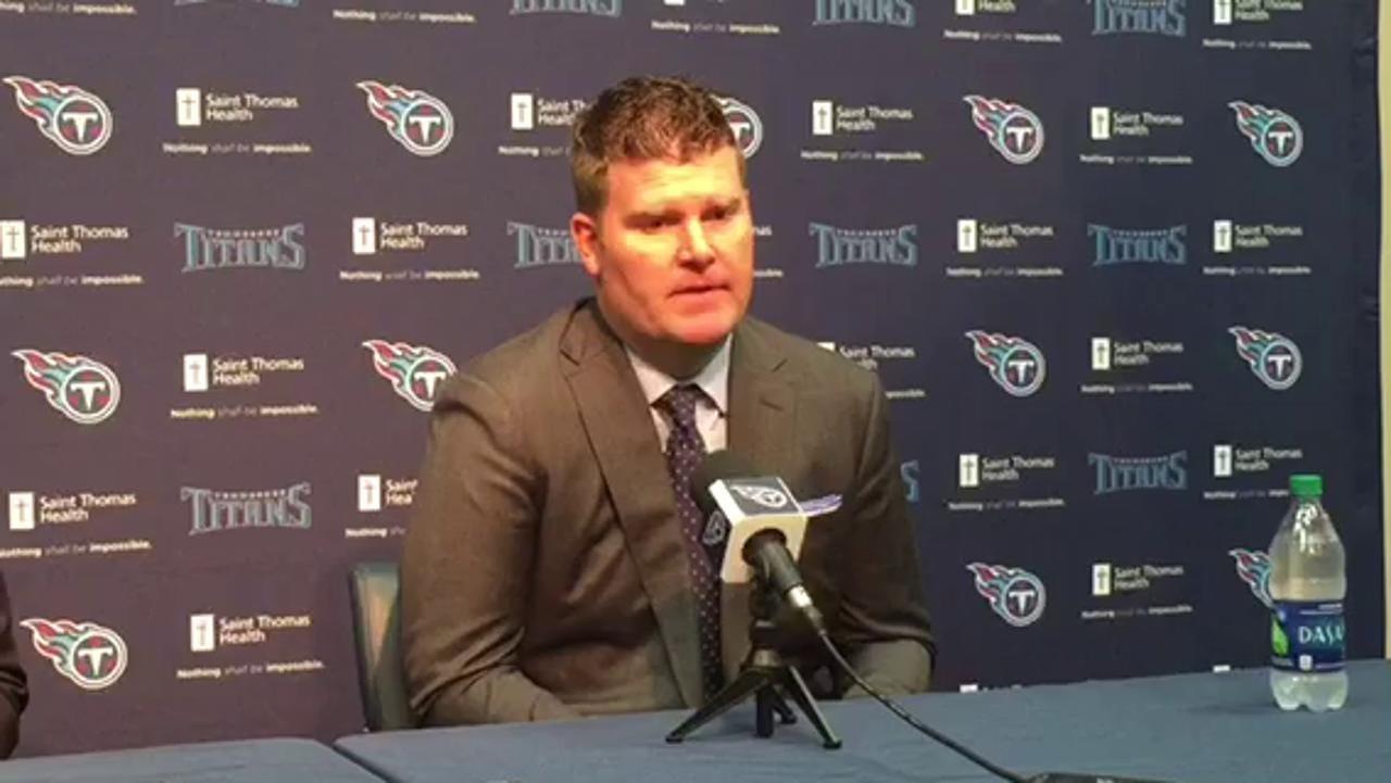 Titans praise 1st pick Corey Davis
