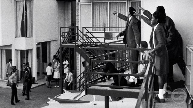 The story behind Dr. Martin Luther King's last words