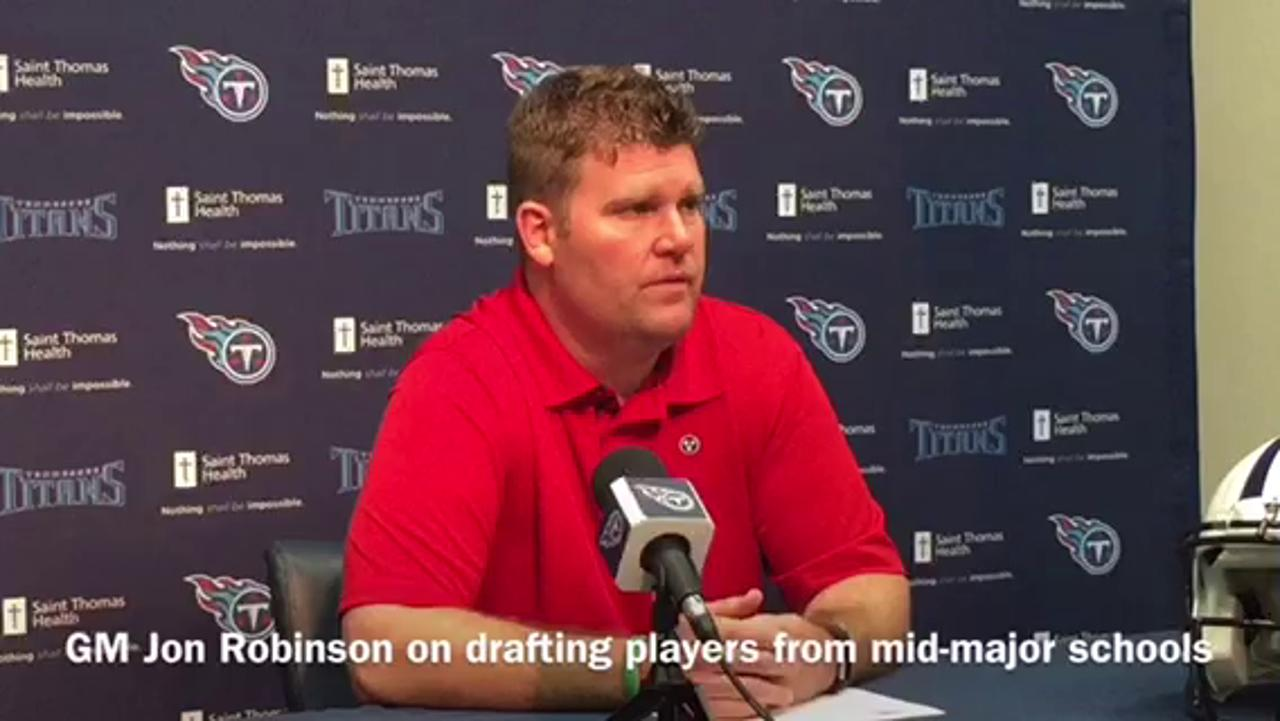 Why Titans drafted mid-major players