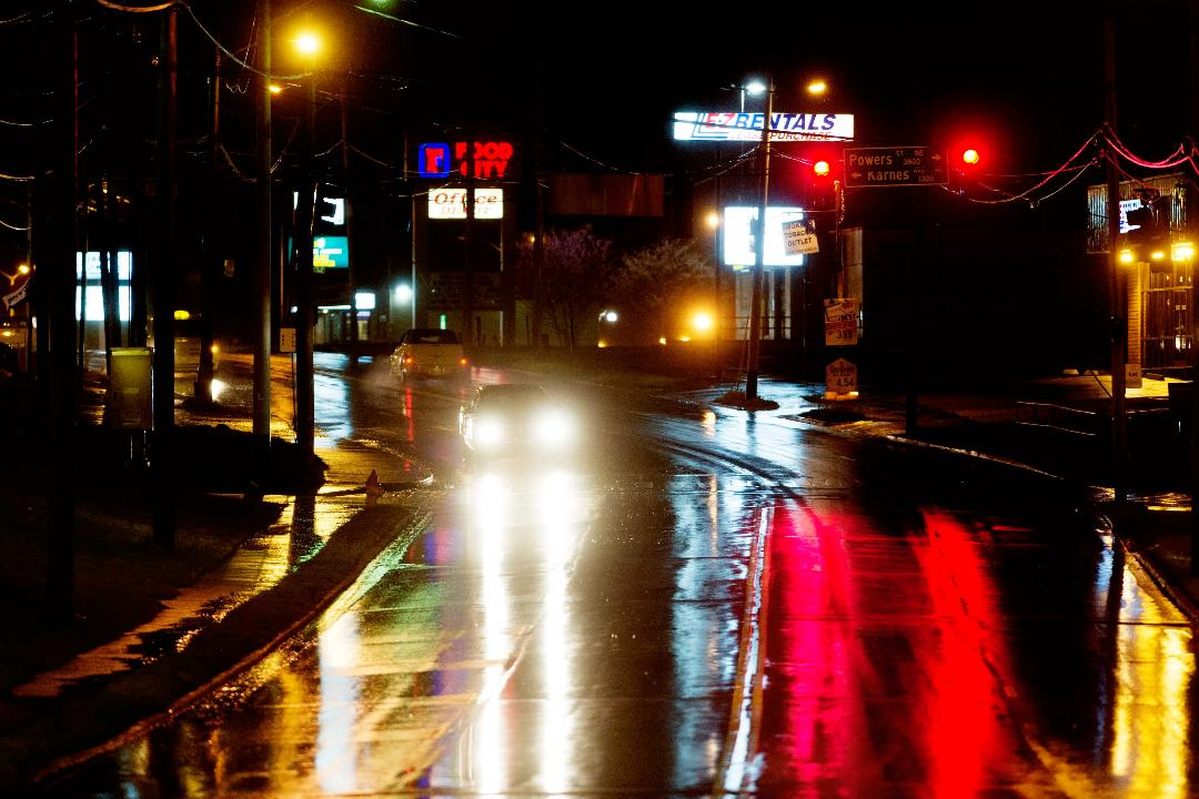 Video: Scenes from Wednesday night's thunderstorm