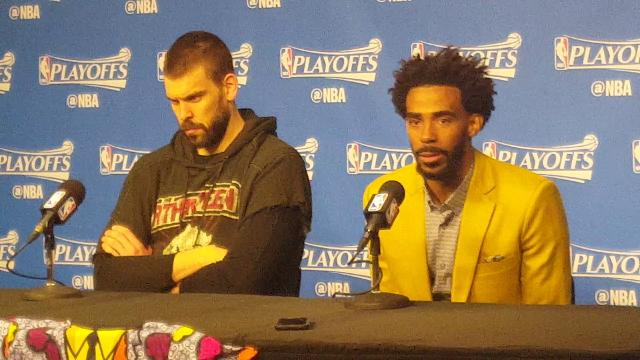 Conley and Gasol describe game-winning play