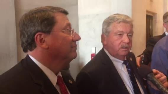 Sen. Mark Norris, Lt. Gov. Randy McNally discuss passage of IMPROVE Act