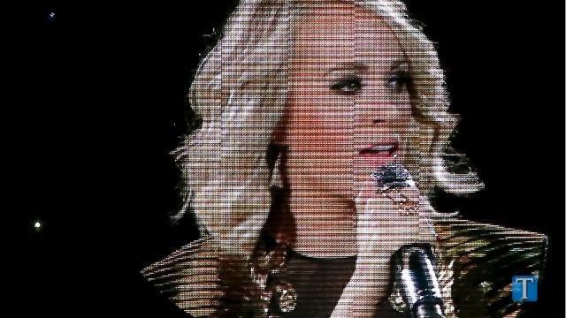 2017 ACM Awards: Country Music Stars Nude Dress Looks