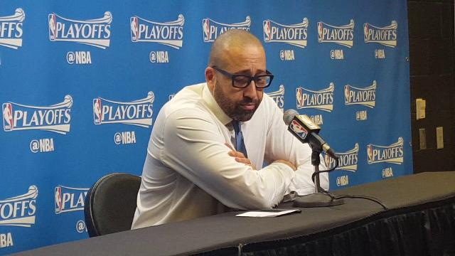 Grizzlies coach David Fizdale criticizes the officiating