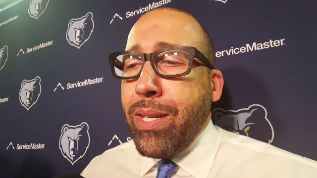 Griz coach David Fizdale after loss to Lakers