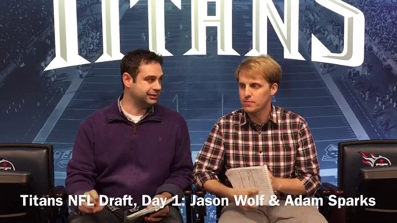 Talking Titans draft, first round