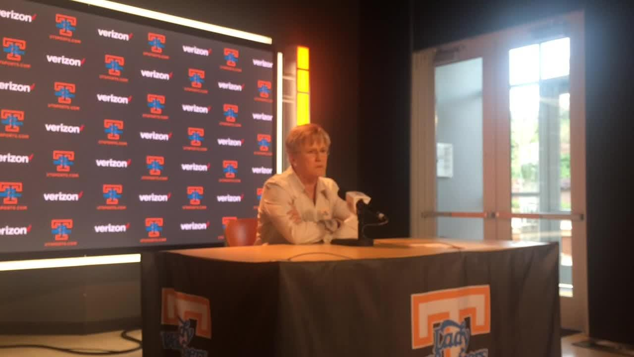 Lady Vols coach Holly Warlick's first priority