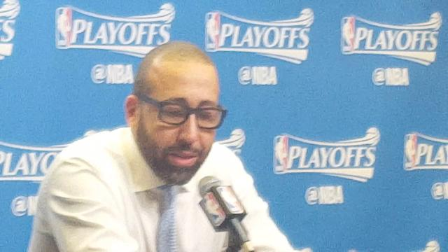 Coach Fizdale talks rebounds and Ginobili