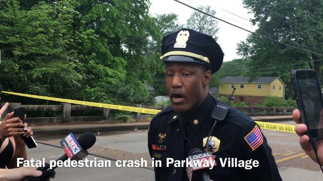 Fatal hit and run crash in Parkway Village