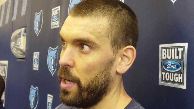 Marc Gasol gives update on his health