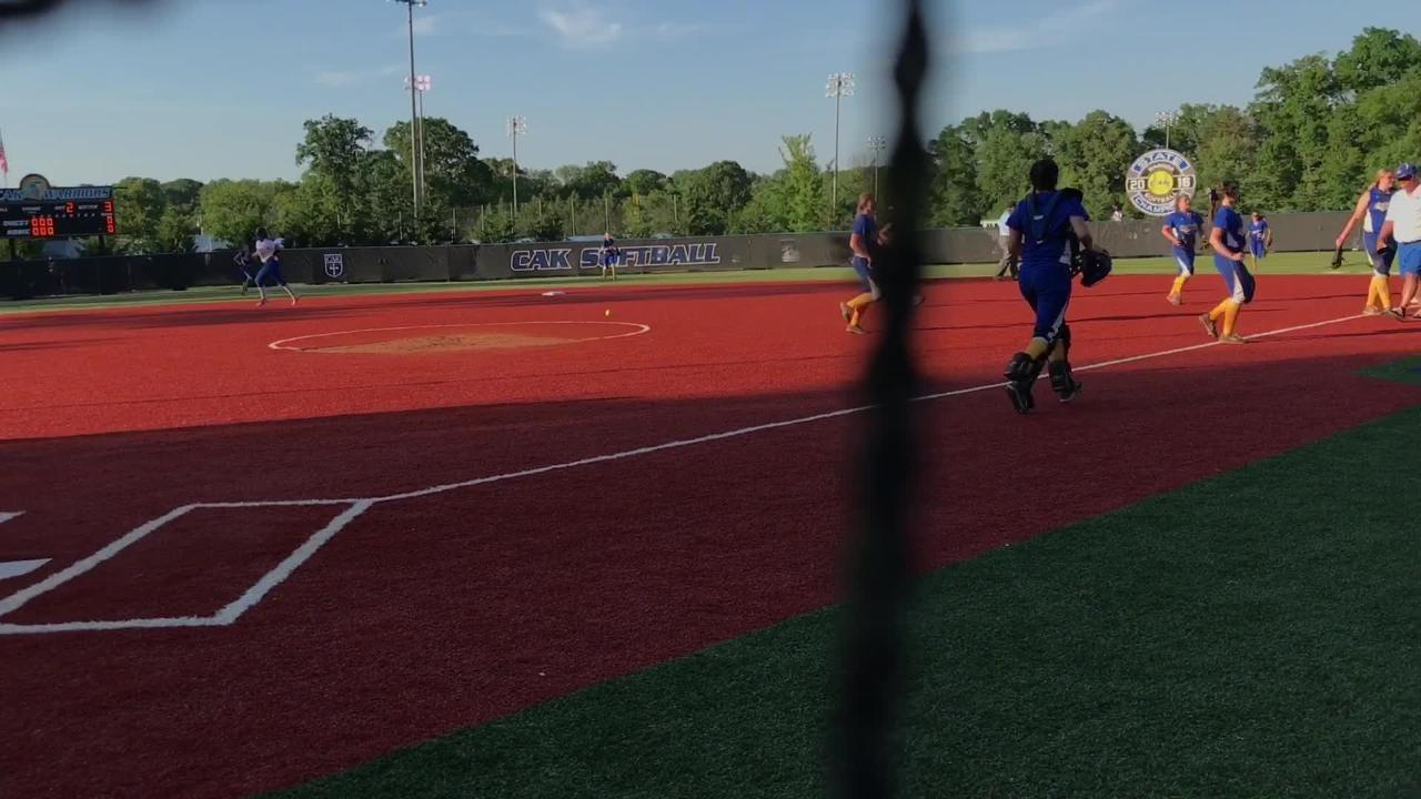 Gatlinburg-Pittman vs. CAK softball highlights