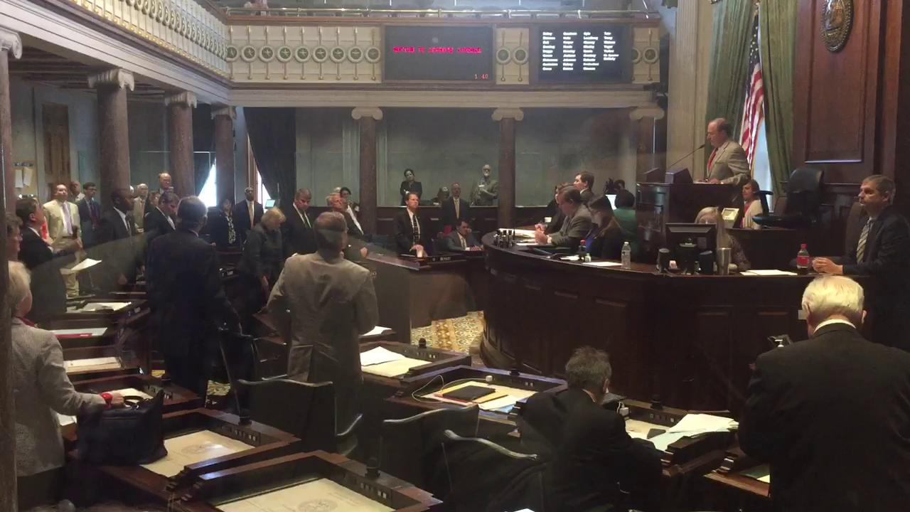 Tennessee legislature adjourns for the year