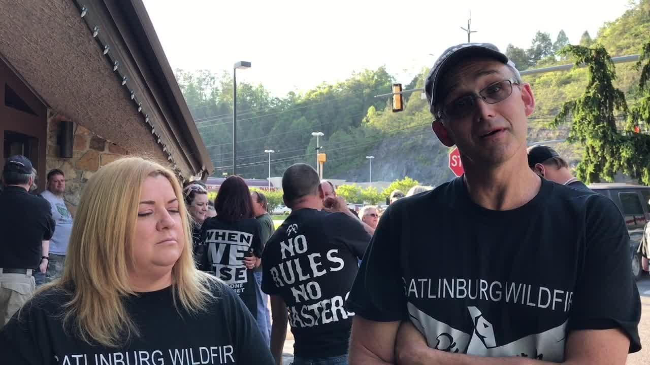 Gatlinburg survivors bring questions to city