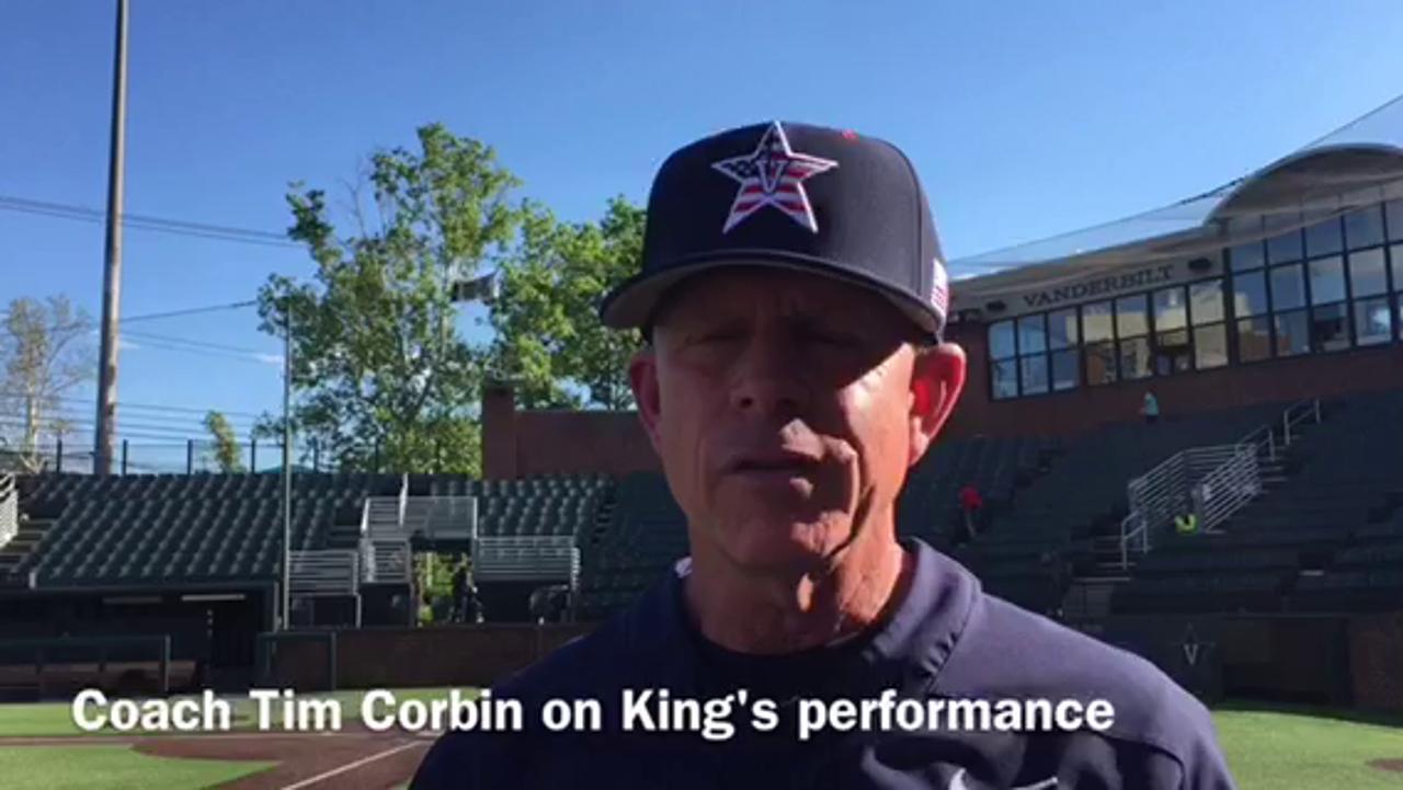Zach King's no-hit relief beats Missouri