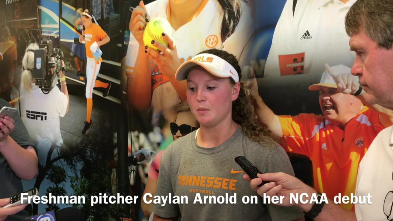 Tennessee softball prepares for NCAA regional