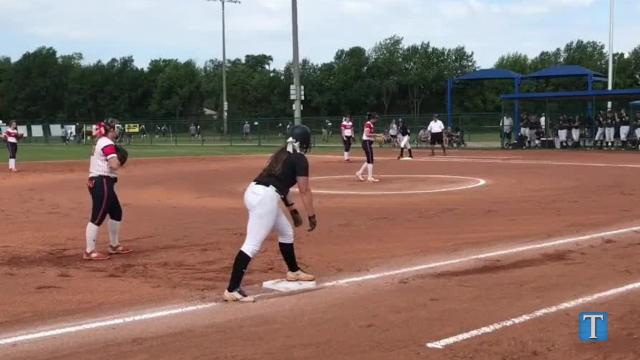 WATCH: CAK advances to Class AA state softball title game with win against Creek Wood