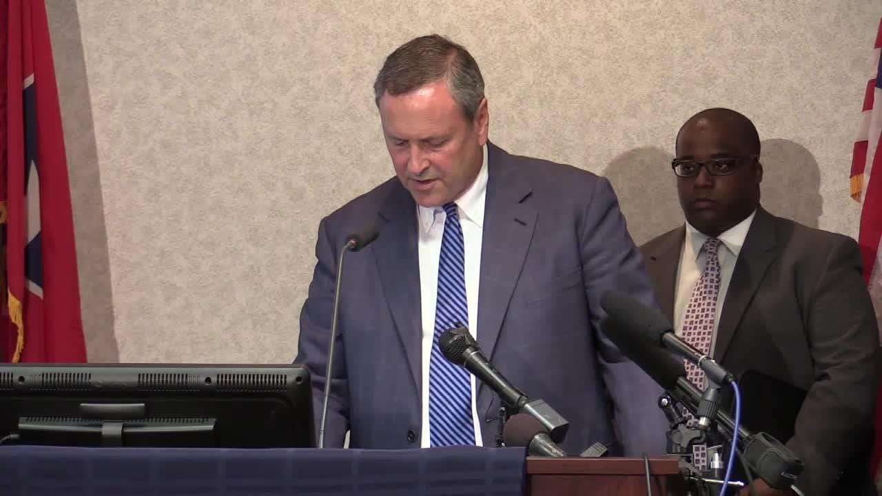 Nashville District Attorney Glenn Funk calls for no charges in death of Jocques Clemmons