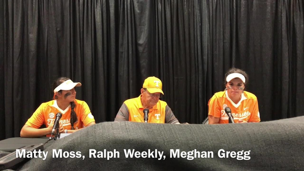 Vols softball wins NCAA regional opener