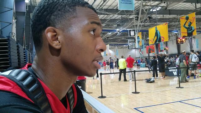 Five star recruit Antwann Jones on his relationship with Tubby Smith