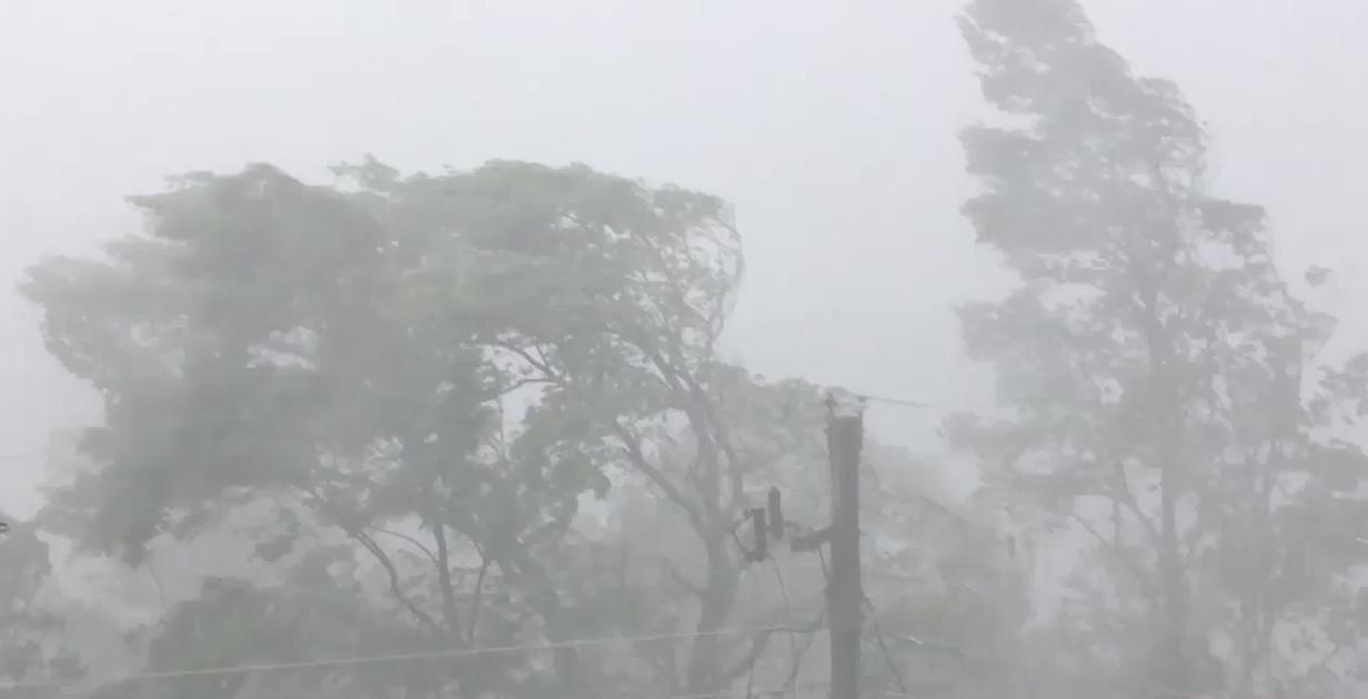 Heavy wind, rain hits Chalet Village in Gatlinburg