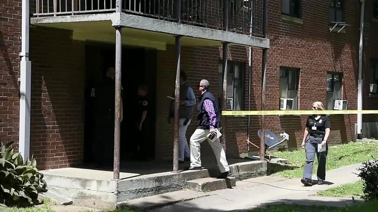 Shooting at Cayce Homes apartments