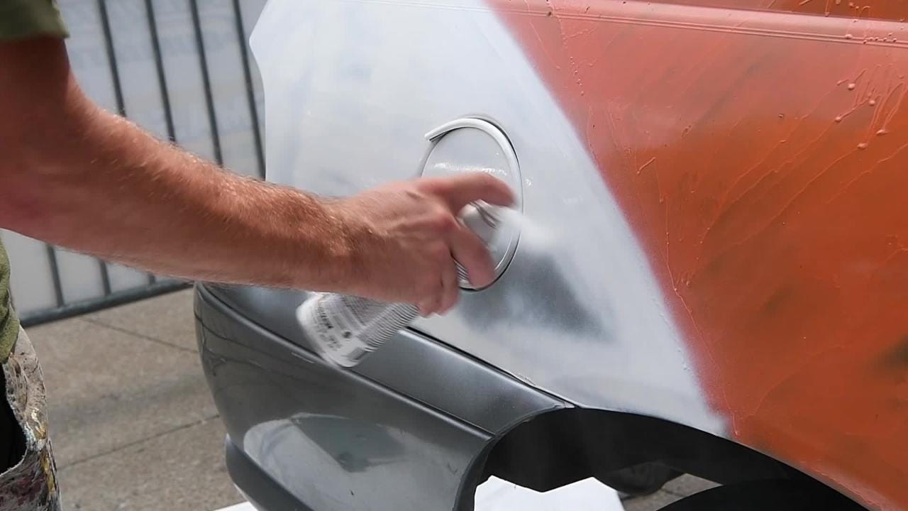Painting the smash car
