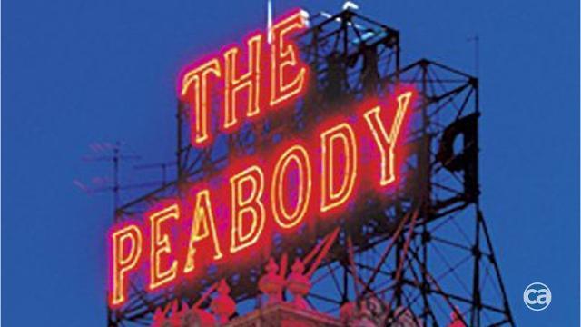 Peabody's homage to famous ducks