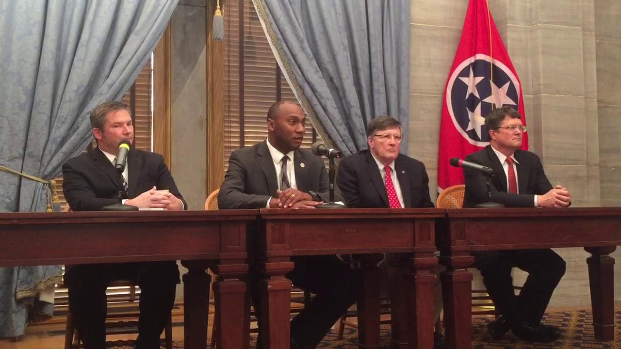 Democratic leaders discuss 2017 session