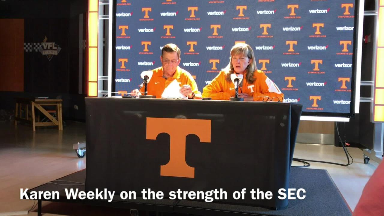 Vols softball on schedule for NCAAs